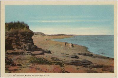 , Cavendish Beach, Prince Edward Island (1504), PEI Postcards