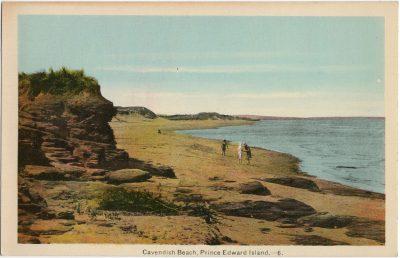 , Cavendish Beach, Prince Edward Island. (1507), PEI Postcards