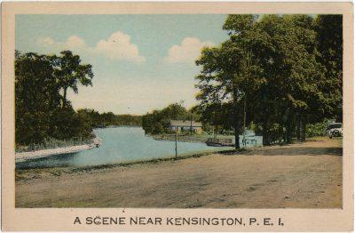 , A Scene Near Kensington, P.E.I. (1508), PEI Postcards