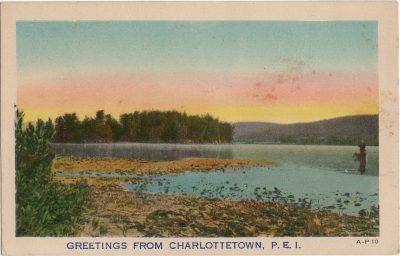 , Greetings from Charlottetown, P.E.I. (1478), PEI Postcards