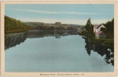 , Montague River, Prince Edward Island (1510), PEI Postcards