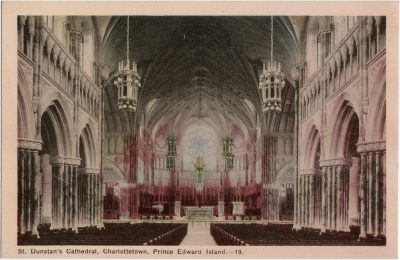 , St. Dunstan's Cathedral, Charlottetown, Prince Edward Island. (1516), PEI Postcards