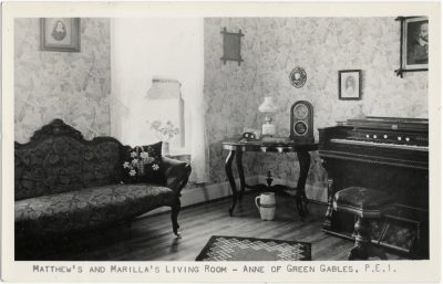 , Matthew's and Marilla's Living Room – Anne of Green Gables, P.E.I. (1522), PEI Postcards