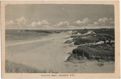 , Cavendish Beach, Cavendish, P.E.I. (1523), PEI Postcards