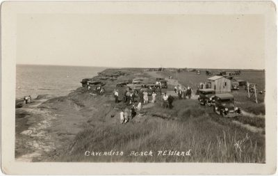 , Cavendish Beach, P.E.Island (1524), PEI Postcards