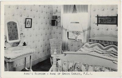 , Anne's Bedroom – Anne of Green Gables, P.E.I. (1538), PEI Postcards