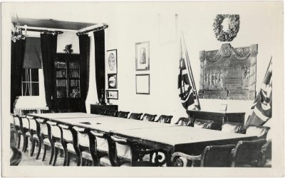 , {Inside Government House} (1542), PEI Postcards