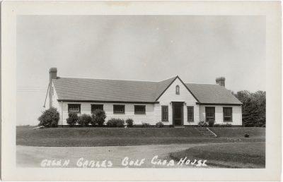 , Green Gables Golf Club House (1543), PEI Postcards