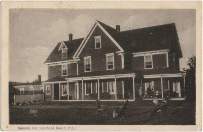 , Seaside Inn, Stanhope Beach, P.E.I. (1546), PEI Postcards