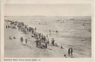 , Cavendish Beach, Prince Edward Island. (1549), PEI Postcards