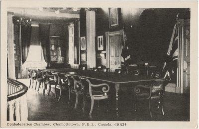 , Confederation Chamber, Charlottetown, P.E.I., Canada. (1557), PEI Postcards