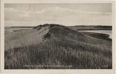 , Cavendish, Lake of Shining Waters, P.E. Island. (1558), PEI Postcards