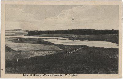 , Lake of Shining Waters, Cavendish, P.E. Island (1565), PEI Postcards