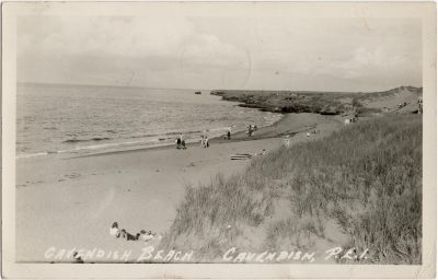 , Cavendish Beach, Cavendish, P.E.I. (1552), PEI Postcards