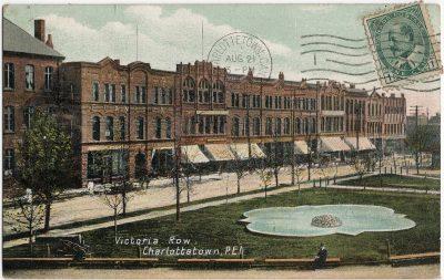 , Victoria Row, Charlottetown, P.E.I. (1583), PEI Postcards