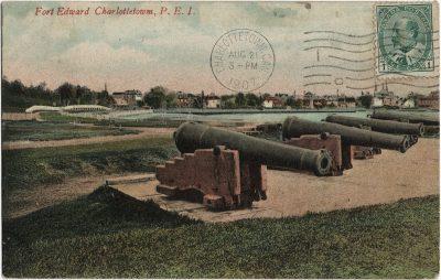 , Fort Edward Charlottetown, P.E.I. (1586), PEI Postcards