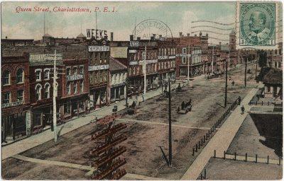 , Queen Street, Charlottetown, P.E.I. (1588), PEI Postcards