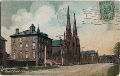 , View of Great George Street, Charlottetown, P.E.I. (1589), PEI Postcards