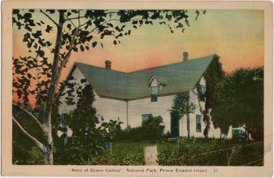 """, """"Anne of Green Gables"""", National Park, Prince Edward Island. (1600), PEI Postcards"""