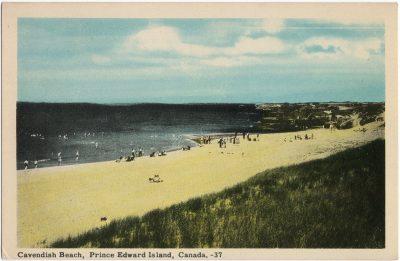 , Cavendish Beach, Prince Edward Island, Canada. (1602), PEI Postcards