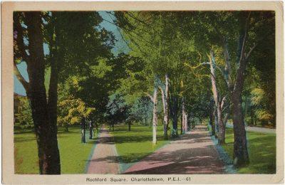 , Rochford Square, Charlottetown, P.E.I. (1604), PEI Postcards