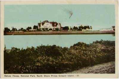 , Dalvay House, National Park, North Shore Prince Edward Island. (1614), PEI Postcards