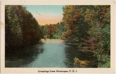 , Greetings from Montague, P.E.I. (1616), PEI Postcards
