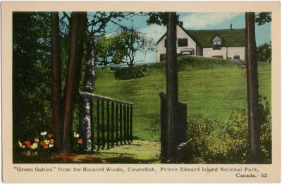 """, """"Green Gables"""" from the Haunted Woods, Cavendish, Prince Edward Island National Park, Canada. (1623), PEI Postcards"""