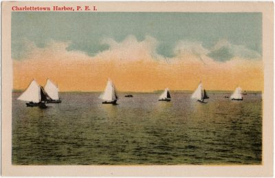 , Charlottetown Harbor, P.E.I. (1624), PEI Postcards