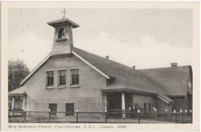 , Holy Redeemer Church, Charlottetown, P.E.I., Canada. (1662), PEI Postcards