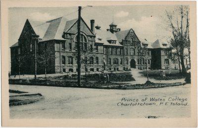 , Prince of Wales College, Charlottetown, P.E. Island (1658), PEI Postcards