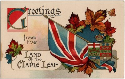 , Greetings from the Land of the Maple Leaf (1685), PEI Postcards