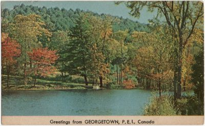 , Greetings from Georgetown, P.E.I., Canada (1630), PEI Postcards