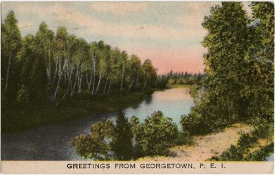 , Greetings from Georgetown, P.E.I. (1632), PEI Postcards