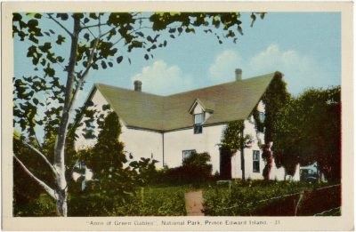 """, """"Anne of Green Gables"""", National Park, Prince Edward Island. (1634), PEI Postcards"""