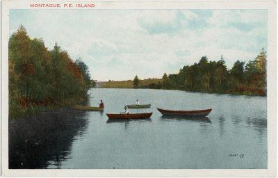 , Montague, P.E. Island (1638), PEI Postcards