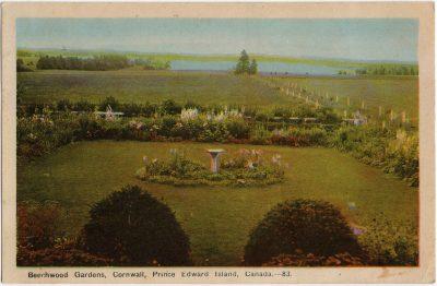 , Beechwood Gardens, Cornwall, Prince Edward Island, Canada. (1641), PEI Postcards