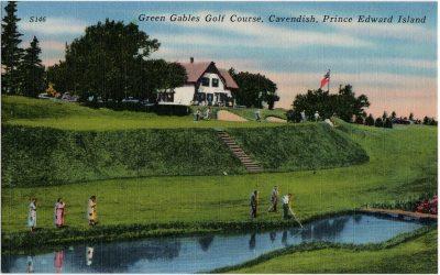 , Green Gables Golf Course, Cavendish, Prince Edward Island. (1643), PEI Postcards