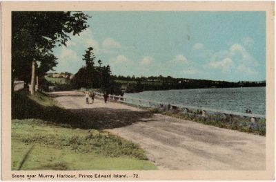 , Scene near Murray Harbour, Prince Edward Island. (1644), PEI Postcards