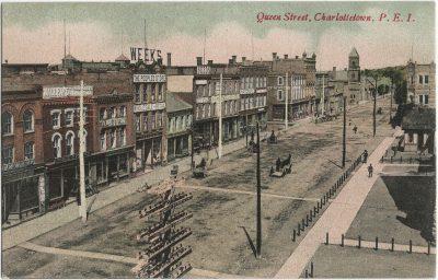 , Queen Street, Charlottetown, P.E.I. (1646), PEI Postcards