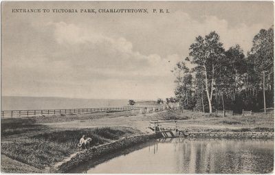 , Entrance to Victoria Park, Charlottetown, P.E.I. (1649), PEI Postcards