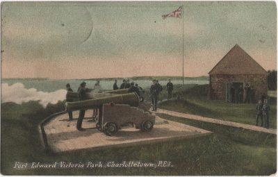 , Fort Edward Victoria Park, Charlottetown, P.E.I. (1651), PEI Postcards