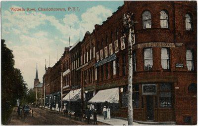 , Victoria Row, Charlottetown, P.E.I. (1652), PEI Postcards
