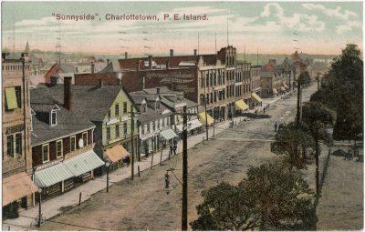 ", ""Sunnyside"", Charlottetown, P.E. Island. (1653), PEI Postcards"