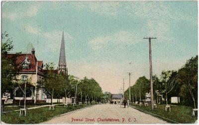 , Pownal Street, Charlottetown, P.E.I. (1656), PEI Postcards