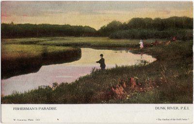 , Fisherman's Paradise Dunk River, P.E.I. (1697), PEI Postcards