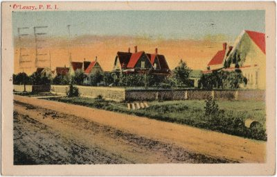 , O'Leary, P.E.I. (1706), PEI Postcards