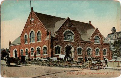 , Market Building, Charlottetown, P.E.I. (1707), PEI Postcards