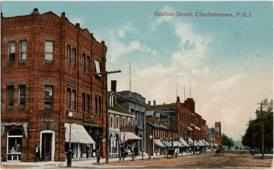 , Grafton Street, Charlottetown, P.E.I. (1710), PEI Postcards