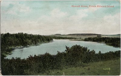 , Morrell River, Prince Edward Island (1713), PEI Postcards
